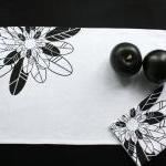 Linen Placemat With Black ..