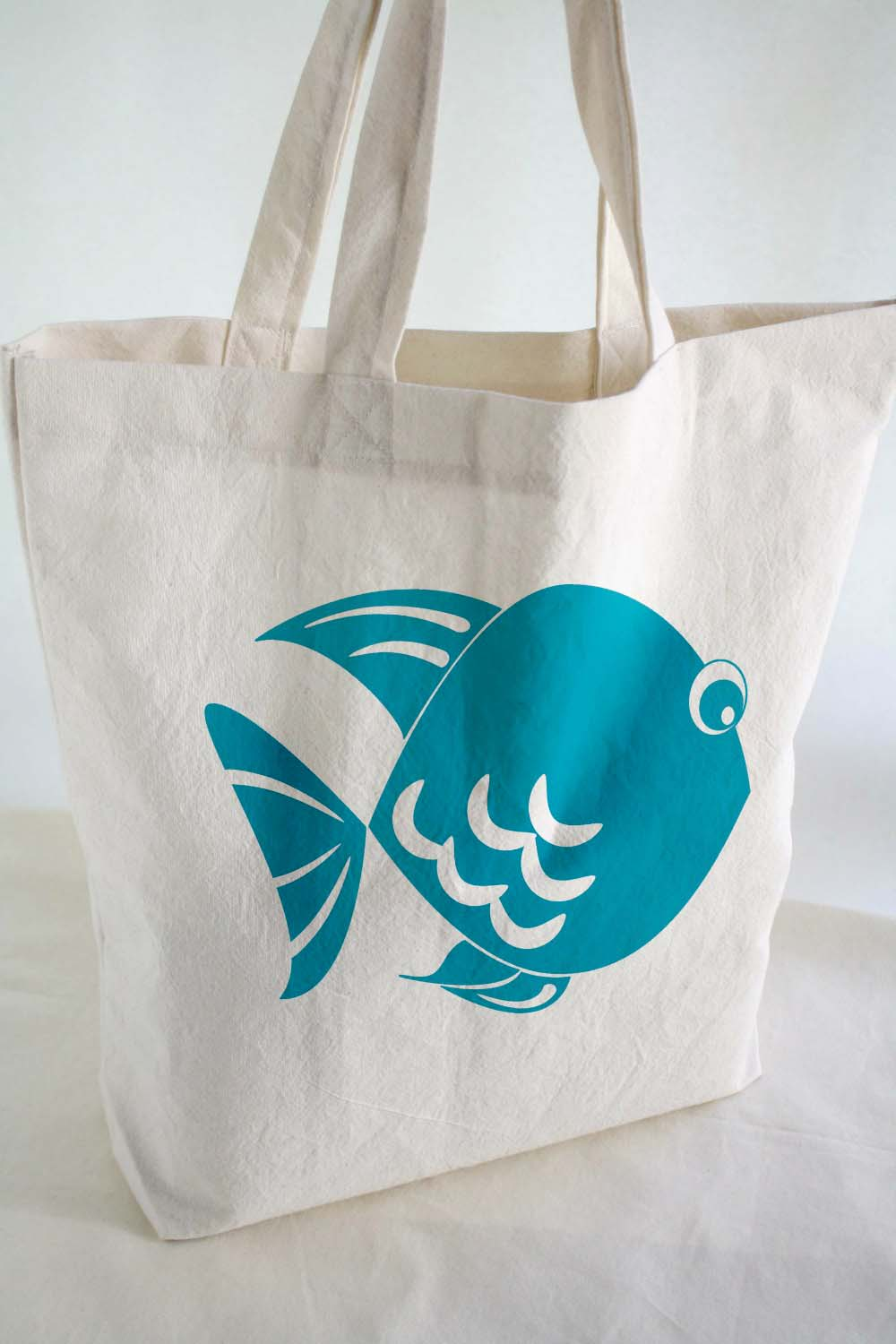 Cotton TOTE BAG - Beach Tote - Cotton Tote Bag With Hand Printed ...